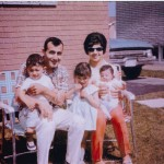 The Hashemis (Mehdi, Nader, Fereshteh, Firoozeh and Ellahe Sadat) 1968 Hamilton Photo Credit: From Iran to Canada and a Life in Between, by Mehdi Hashemi, 2004
