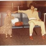 Hanieh Nik Khah and Esfandiar Nik Khah Ottawa Train Station 1978 Photo Credit: Esfandiar Nik Khah