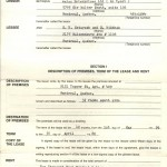 Lease Agreement May 1, 1979 $200 Monthly Rent for a 3 Bedroom Apartment in Montreal Photo Credit: Esfandiar Nik Khah
