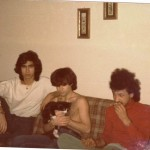 Left to right: Esfandiar Nik Khah , Shahryar, Hamid and Cat (Sylvester) in Montreal 1979 Photo Credit: Esfandiar Nik Khah