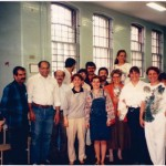 Montreal, Institute of education for the Iranian Youth and Children-1986 Dr Reza Solymani and Dr Ezat Mossallanejad   Photo Credit: Dr Ezat Mossallanejad