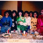 Jafar Neshat (Active Haji Piruz since 1988 and among the first Haji Piruz in Toronto) Nowruz Party, LINK class at Bathurst High School (Lawrence/ Bathurst) Toronto, March 1988 Photo Credit: Jafar Neshat
