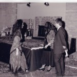 Nowruz Ball at the ROM 1992 From right: X, X and Afrin Faghani Photo Credit: Ms. Mary Faghani
