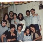 Esfandiar Nik Khah and his classmates at Cosmopolitan College Toronto 1978 Photo Credit: Esfandiar Nik Khah