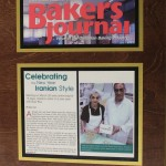 Shirini Sara Pastry House Featured in The Bakers Journal in Oct 2004