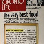 Shirini Sara Pastry House Featured in Toronto Life in Nov 1998