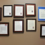 Awards, letter of appreciations, acknowledgments letters, certificates presented to Parya Trillium Foundation