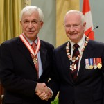 On November 23, 2012 Dr. Mahabadi was invested as Officer of the Order of Canada by His Excellency the Right Honourable David Johnston, Governor General during the investiture ceremony held at Rideau Hall in Ottawa. Officer of the Order of Canada is one of Canada's highest civilian honors, which recognizes a lifetime of outstanding achievement dedication to community and service to the nation. Dr. Mahabadi is recognized for his significant contributions to the advancement of science and innovation in Canada. Photo Credit: Dr. Hadi Mahabadi's website