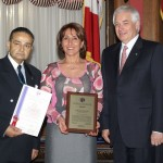 Parvaneh Missaghi ; Recipient of Award from National Ethnic Press Council of Canada in 2004 for : Community Photo Credit: Parvaneh Missaghi