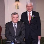 The Honourable David Charles Onley ,Lieutenant General of Ontario presented The 2009 New Pioneer's Award in Science & Technology to Dr. Hadi Mahabadi Photo Credit: Dr. Hadi Mahabadi's website