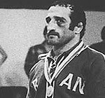 1976 Montréal Summer Olympics Mansour Barzegar won Silver in 74 kg Freestyle Wrestling